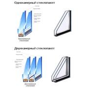 Стеклопакеты однокамерные и двухкамерные фото