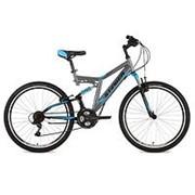 Велосипед Stinger Highlander 26 2018 серый фото