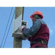 Установка и замена электросчетчиков (электромонтажные работы). фото