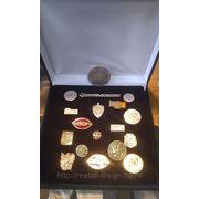 Изготовление медалей и значков фото