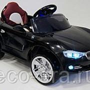 Электромобиль BMW O111OO VIP, с багажником для игрушек и магнитолой фото