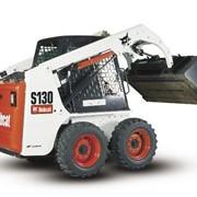 Мини-погрузчик Bobcat S100 с ковшом 127 см фото