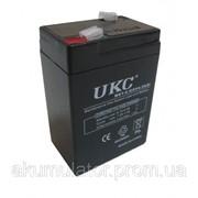 Аккумуляторная батарея 6V 4.5Ah UKC фото