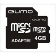 Карта памяти MicroSD (TransFlash) 4Gb Qumo фото