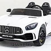 Детский электромобиль Harley Bella Mercedes-Benz GT R 4x4 MP3 - HL289-WHITE-4WD фото