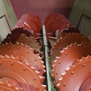 Шнек на кормораздатчик ИСРК-12 фото