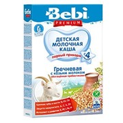 Бэби каша премиум гречка с козьим молоком (с 4 мес) 250г фото