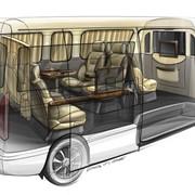 Переоборудование автомобилей. Переоборудование грузовых автомобилей на пассажирские фото