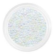 Patrisa Nail, Бульонки стеклянные мелкие 0,8 мм, прозрачная голография фото