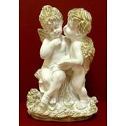 """Скульптура """"Ангелы пара"""" Л073 фото"""