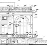 Построение обмерных чертежей фасадов фото