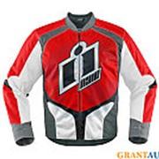 Мото куртка Icon Overlord красная S фото