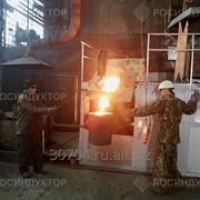 Печь индукционная плавильная, емкость для плавки 250 кг фото