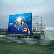 Изготовление уличного видео экрана P16, P12, P10, P08, P06 фото