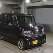 Микровэн HONDA N BOX PLUS кузов JF2 класса минивэн модификация G A Package г 2015 4WD пробег 36 т.км пурпурный фото