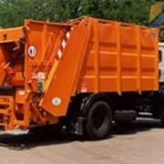 Вывоз строительного мусора ТБО фото