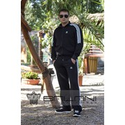 Мужская одежда Мужской спорт костюм Adidas (711/АР) / черный фото