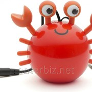 Колонка KitSound Mini Buddy Speaker Crab Orange (KSNMBCRB), код 129452 фото