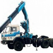 Седельный тягач модели 6406 с ИМ-150 (шасси КАМАЗ-53228) фото