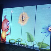 Рекламная вывеска светодиодная фото