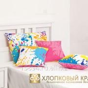 Подушка декоративная 40х40 happy pink фото