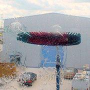Мойка фасадов с «земли» по технологии WFP (Water Fed Pole) фото