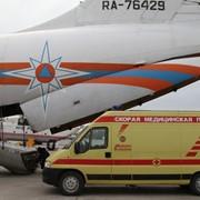 Услуги санитарной авиации, перевозка больных. фото