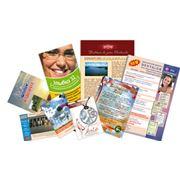 дизайн полиграфии: графический дизайн и верстка рекламной полиграфии печать полиграфической продукции (офсетная цифровая и широкоформатная) фото