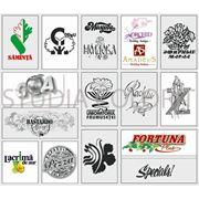 Разработка оригинал-макетов товарных знаков фото