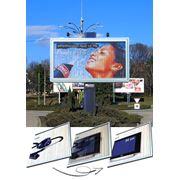 Рекламные динамические установки фото