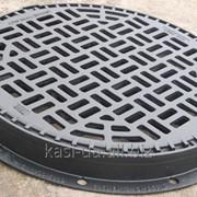 Дождеприемник круглый тяжелый KСRМ фото