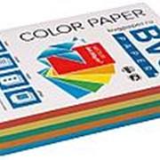 BVG Paper Бумага цветная BVG, А4, 80г, 500л/уп, радуга 5 цветов, медиум фото