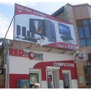 Наружная реклама в Молдове: баннеры лайтбоксы объемные буквы вывески и указатели фото