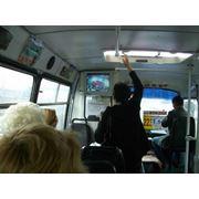 Реклама в салонах общественного транспорта фото