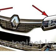 Реснички на фары Renault Sandero 2013- фото
