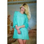Платье голубое Код: 351/ТР фото