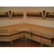 Изготовление садовой мебели и мебели для предбанников фото