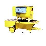 Штукатурный агрегат модель Т-103 фото