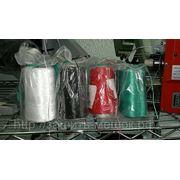 Нитки белые и цветные для портативных и настольных мешкозашивочных машин. фото