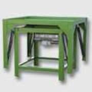 Вибростоп формовочный. Вибростанки для производства стройматериалов, для изготовления брусчатки. фото