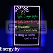 Информационная светодиодная доска (500×700мм RGB) фото