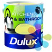 Dulux Kitchen & Bathroom - Латексная краска для кухни и ванной. фото
