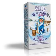 Соль Экстра пачка (1кг, картон), йодированная фото