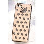 Чехлы Чехлы Swarovski Design Cream для iPhone 5/5s фото