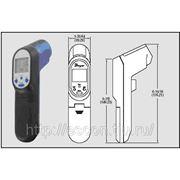 Бесконтактный инфракрасный термометр серии IR4.Пирометр