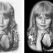 Быстрая качественная онлайн-ретушь для гравировки фото