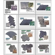 Декоративный штампованный бетон фото