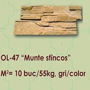 Placaj pentru fasad Munte stincos OL-47 фото