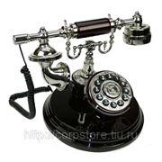 Телефон-ретро на подставке d=18см, 22см (уп.1/8шт.) фото