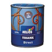 Краска для защиты и декора металлических и стальных поверхностей фото